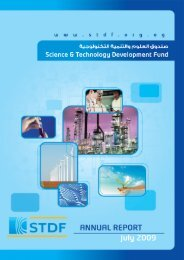 English Annual report up to 2009 - Science and Technology ...