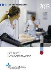 FWG Broschüre 2013.indd - Barmherzige Brüder Trier e. V.