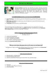 Betreutes Wohnen PDF-Liste neu 2007 - Landkreis Günzburg