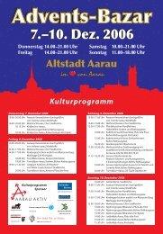 7.–10. Dez. 2006 - Aarau