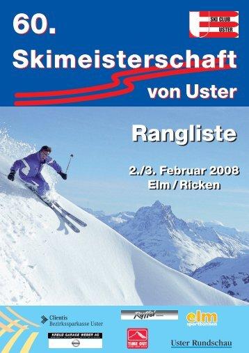 Rangliste - skimu.ch