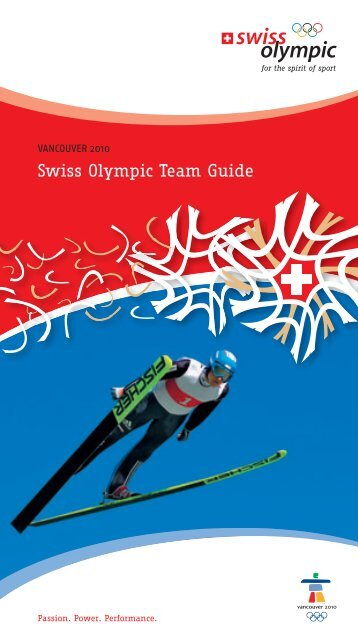 Swiss Olympic Team Guide