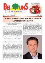 Roland Fürst - SPÖ × Bad Sauerbrunn