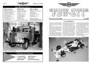 ''FBW-ZYT'' DIE AKTUELLEN CLUB-NEWS JULI 2008 - Fbw-Club