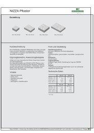 Produktdatenblatt Nizza - bau docu Österreich