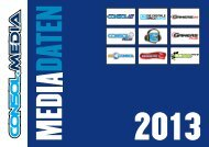 Mediendatenblatt (PDF) - consol.MEDIA Verlags GmbH
