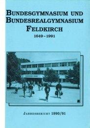 1991 - Gymnasium Feldkirch
