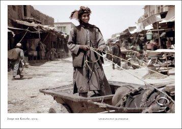 Junge mit Kutsche, 2002. afghanistan | kandahar - G27