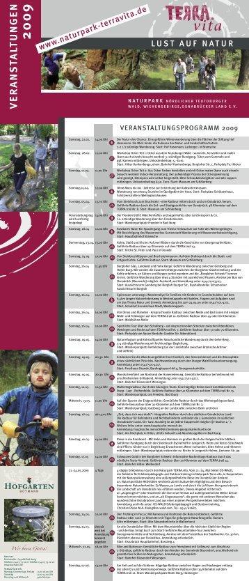 Jahresprogramm 2009 - pdf - Landkreis Osnabrück