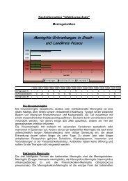 Meningokokken - Fachinformation ... - Landkreis Passau
