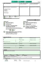 Bauantrag - Landkreis Passau