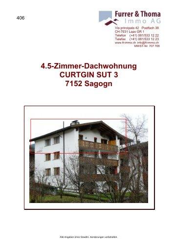 4.5-Zimmer-Dachwohnung CURTGIN SUT 3 7152 ... - newhome.ch