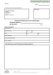 Antrag auf die Befreiung von den Festsetzungen ... - Landkreis Passau