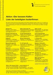 Aktion «Der bessere Keller - Amt für Umwelt und Energie - Kanton ...