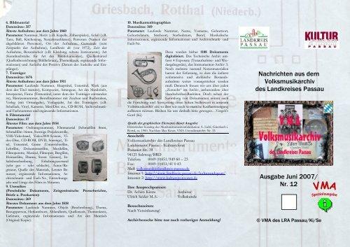 VMA-Faltblatt Juni07.pdf - Landkreis Passau