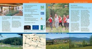 Flyer Vital Parcours Zellertal - Landkreis Regen
