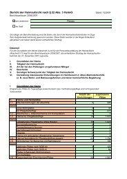 Bericht der Heimaufsicht nach § 22 Abs. 3 HeimG - Landkreis Passau