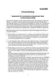 Spatenstich für Granitzentrum Bayerischer Wald - Landkreis Passau