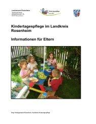 Informationen für Eltern zur Kindertagespflege - Landkreis Rosenheim