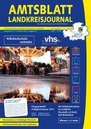 Volkshochschule verbindet - Landkreis Neustadt an der Aisch - Bad ...