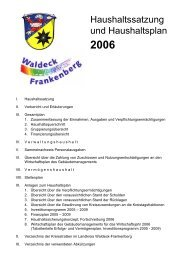 2006 - im Landkreis Waldeck Frankenberg