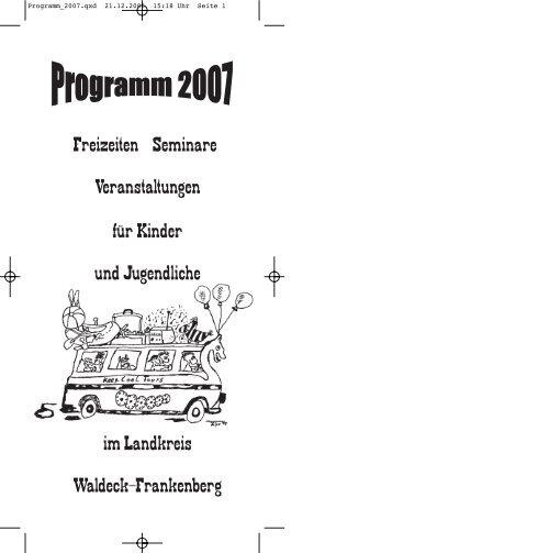 Drucken Programm_2006 - im Landkreis Waldeck Frankenberg