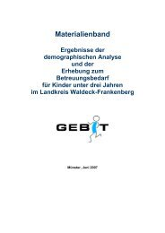 Materialienband - im Landkreis Waldeck Frankenberg