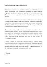 Jahrespressebericht 2003 - Kopie - beim Landkreis Vechta
