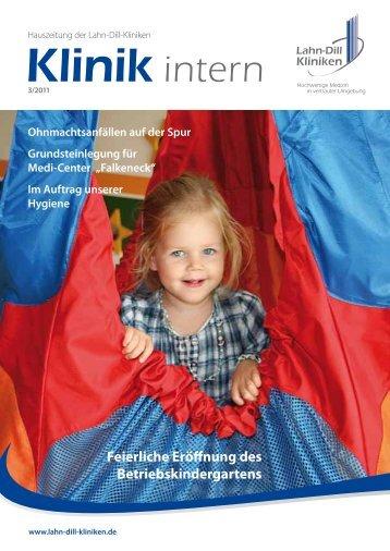 Klinik intern 2011/3 - Lahn-Dill-Kliniken