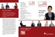 Flyer zum Informatikjahr an der Universität Paderborn