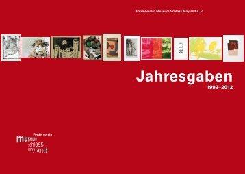 Alle Jahresgaben im Überblick (PDF) - Museum Schloss Moyland