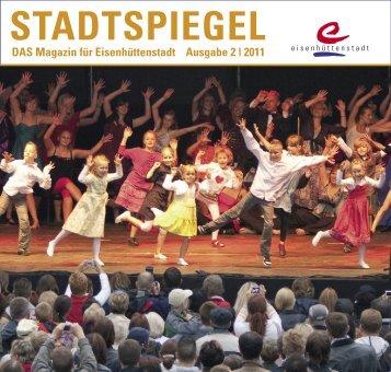 Stadtspiegel 2_2011 final.indd - der Stadt Eisenhüttenstadt