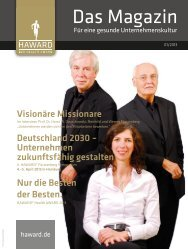 Das Magazin - Haward