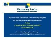 Psychosoziale Gesundheit und Leistungsfähigkeit - BKK ...