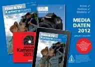 MEDIA DATEN 2012 - Film & TV Kameramann