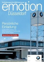 BMW Niederlassung Düsseldorf - publishing-group.de