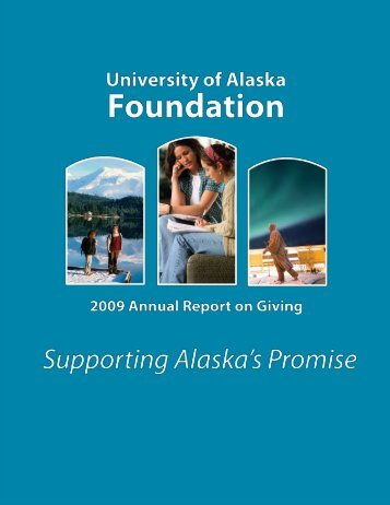 FY09 AnnuAl RepoRt 1 - University of Alaska