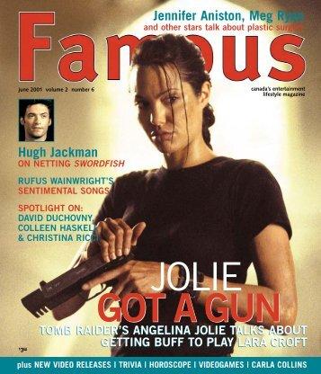 JOLIE GOT A GUN