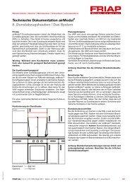 Technische Dokumentation airModul® 8 ... - Friap AG