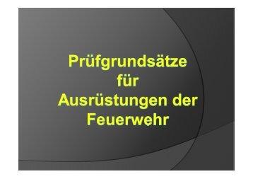 """Referat """"Geräteprüfung in der Feuerwehr"""" - Landkreis Neuburg ..."""