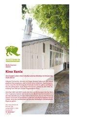 Kino Xenix - Frei + Saarinen
