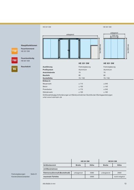 Katalog Feuer- und Rauchschutzabschlüsse - Hörmann