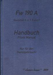 Fw190A Late Variants Handbook - Classics Hangar