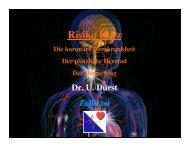 Risiko Herz - Dr. med. Urs N. Dürst