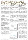 PROFESSIONELLE WARTUNG VON ... - FVB - Page 2