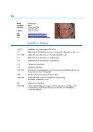 Curriculum Vitae (PDF) - Martin Vogelsanger