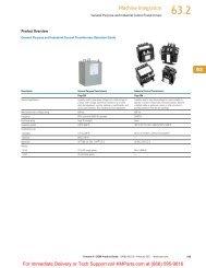 Tab 63 - Klockner Moeller Parts