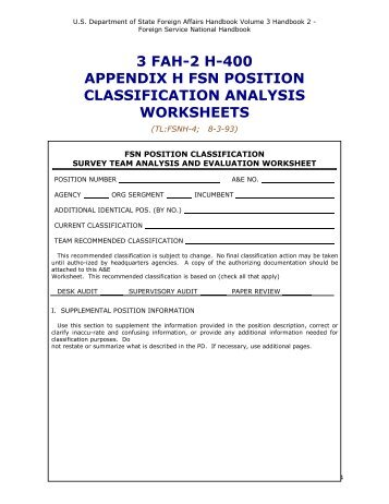 3 fah-2 h-400 appendix h fsn - US Department of State