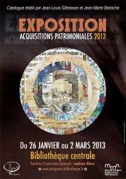 Catalogue-acquisitions-patrimoniales-2012