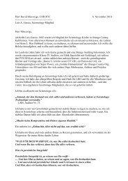 Der Brief von Luis Garcia - Blog